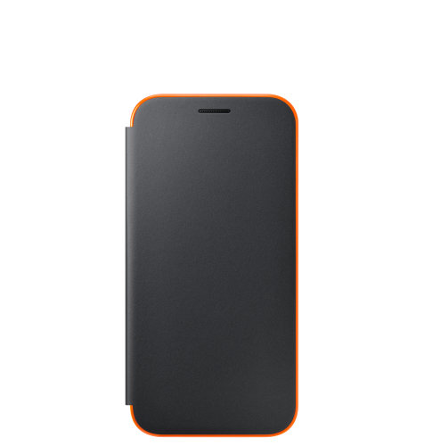 Samsung Galaxy A3 (A320) Neon Flip Cover torbica crna