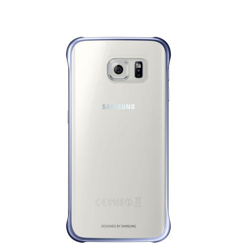 Samsung Galaxy S6 Clear Cover torbica crna