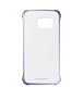 Samsung Galaxy S6 Edge Clear Cover torbica crna