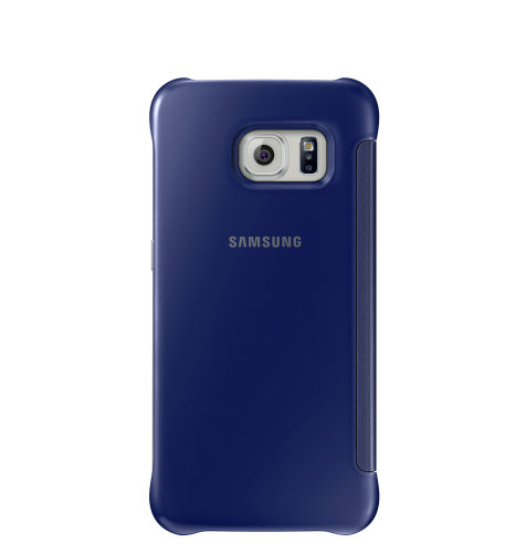 Samsung Galaxy S6 Edge Clear View Cover torbica crna