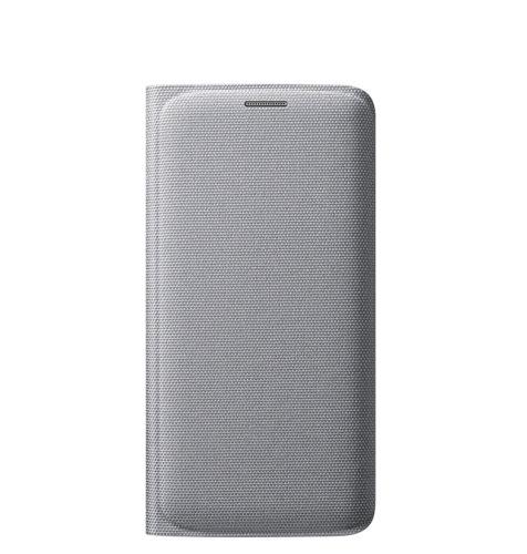 Samsung Galaxy S6 Edge Flip Wallet (Fabric) torbica srebrna