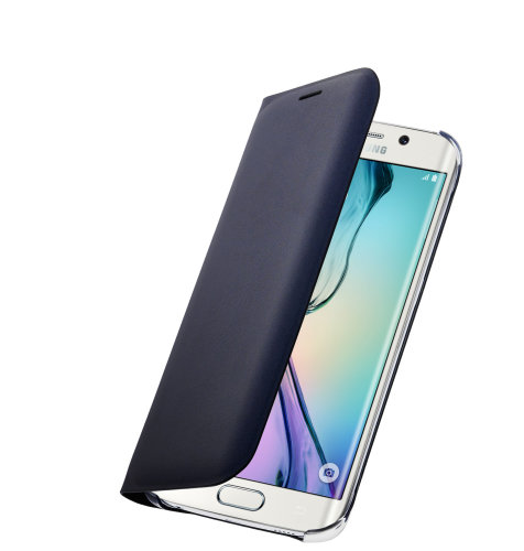 Samsung Galaxy S6 Edge Flip Wallet (PU) torbica crna