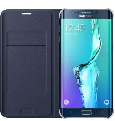 Samsung Galaxy S6 Edge plus Flip Wallet torbica crna