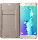 Samsung Galaxy S6 Edge plus Flip Wallet torbica zlatna