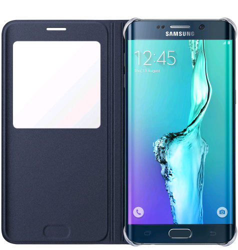 Samsung Galaxy S6 Edge plus S View Cover torbica crna