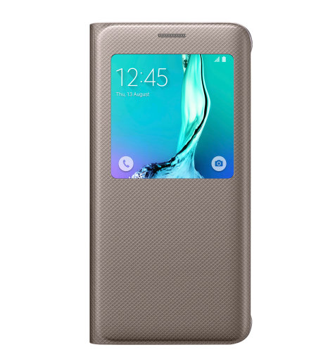 Samsung Galaxy S6 Edge plus S View Cover torbica zlatna