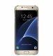 Samsung Galaxy S7 Edge Clear Cover torbica zlatna