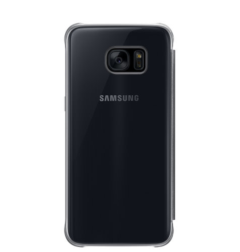 Samsung Galaxy S7 Edge Clear View Cover torbica crna