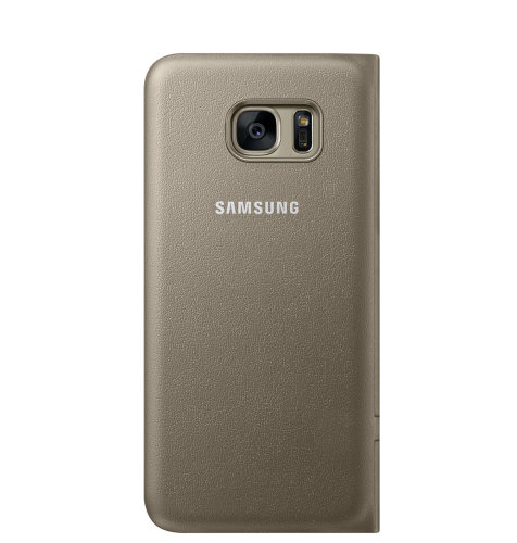 Samsung Galaxy S7 Edge LED View Cover torbica zlatna