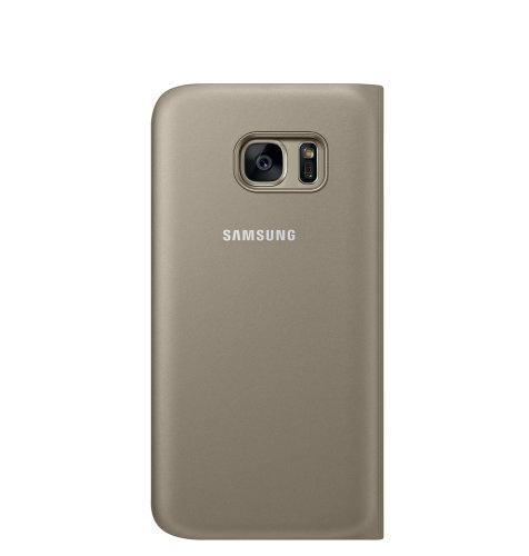 Samsung Galaxy S7 Flip Wallet torbica zlatna