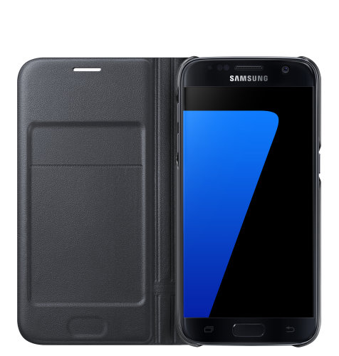Samsung Galaxy S7 LED View Cover torbica crna