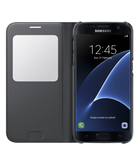 Samsung Galaxy S7 S View Cover torbica crna