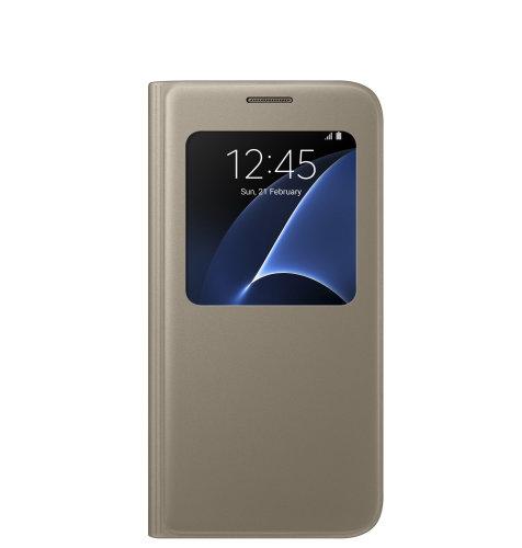 Samsung Galaxy S7 S View Cover torbica zlatna