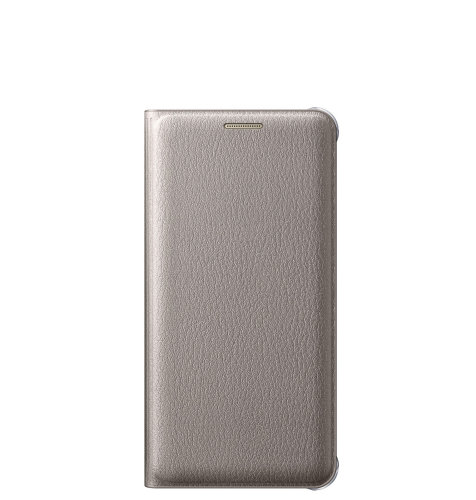 Samsung Galaxy A3 (A310) Flip Wallet torbica zlatna