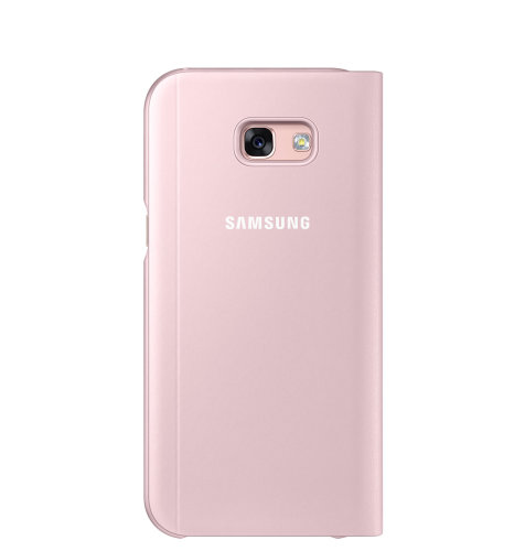 Samsung Galaxy A5 (A520) S View Standing Cover torbica pink