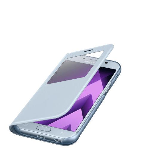 Samsung Galaxy A5 (A520) S View Standing Cover torbica plava