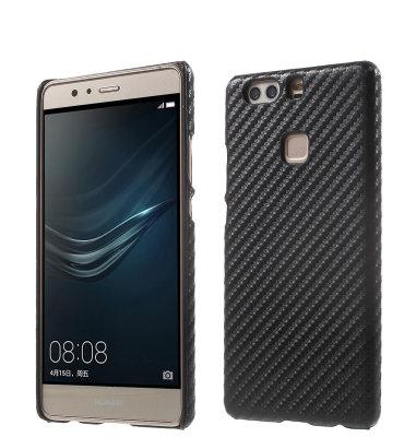 """Zaštita """"carbon"""" Huawei P9: crna"""