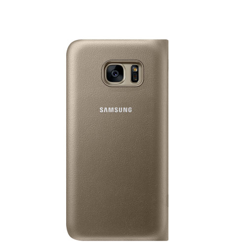 Samsung Galaxy S7 LED View Cover torbica zlatna