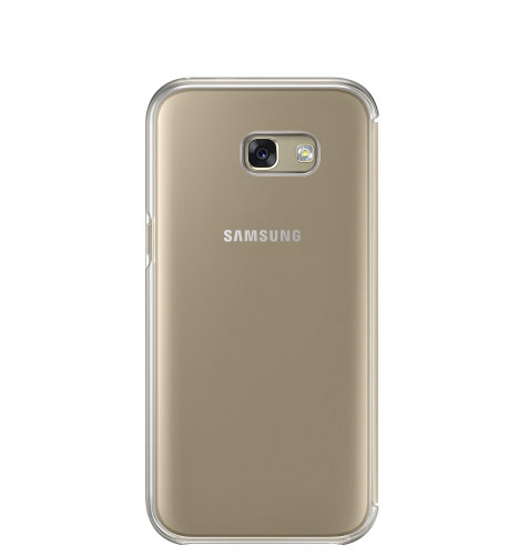 Samsung Galaxy A5 (A520) Clear View Cover torbica zlatna
