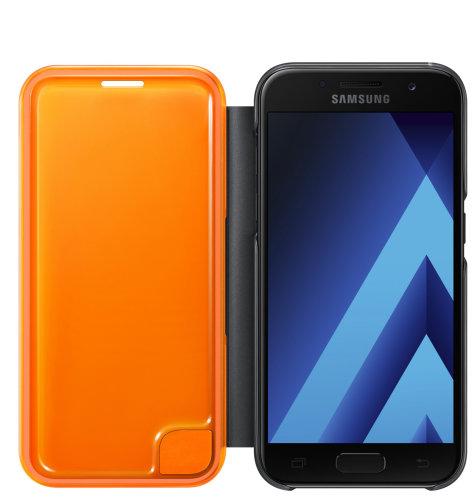 Samsung Galaxy A5 (A520) Neon Flip Cover torbica crna