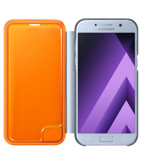 Samsung Galaxy A5 (A520) Neon Flip Cover torbica plava