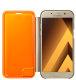 Samsung Galaxy A5 (A520) Neon Flip Cover torbica zlatna