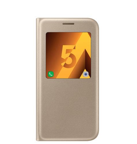 Samsung Galaxy A5 (A520) S View Standing Cover torbica zlatna