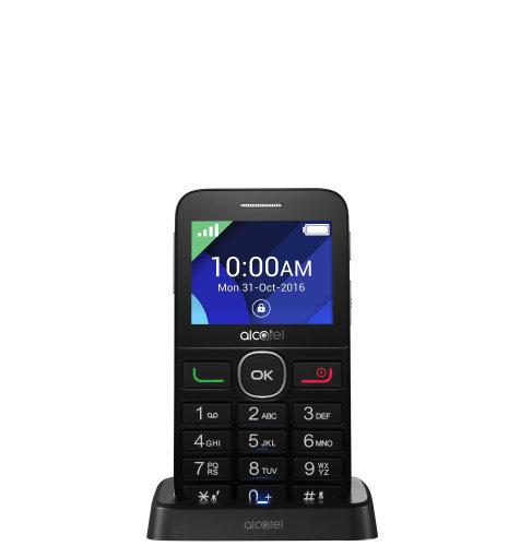 Alcatel OT-2008G: crni