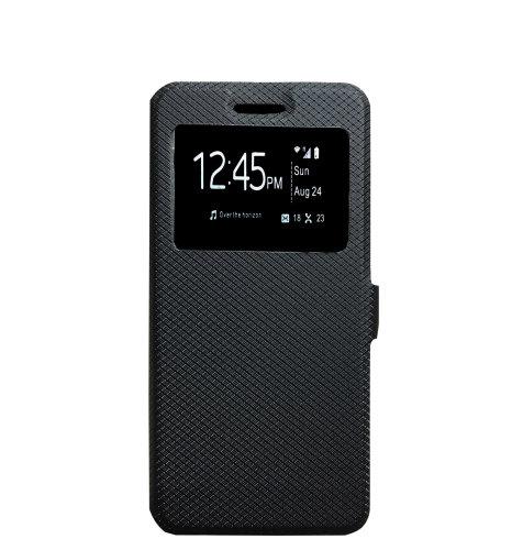 JCM maska preklopna za Huawei P10: crna
