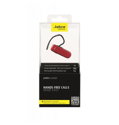 Bluetooth slušalice Jabra: crvena
