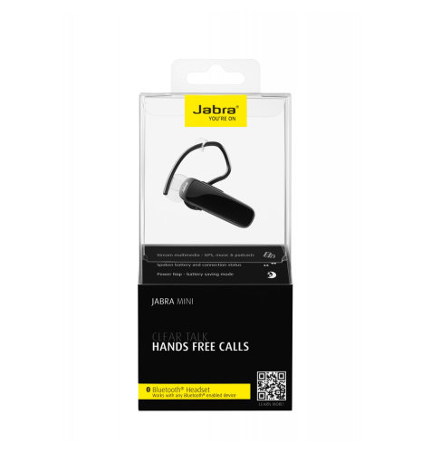 Bluetooth Jabra mini: crna