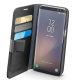 Cellular line preklopna kožna zaštita za uređaj Samsung Galaxy S8: crna