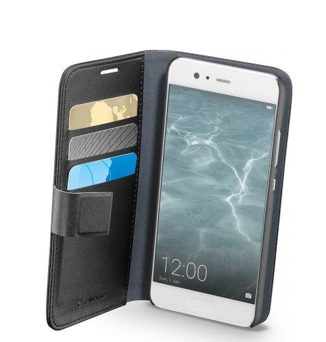 Cellular line preklopna (kožna) zaštita za uređaj Huawei P10