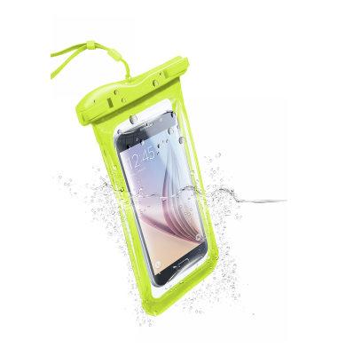 Cellular line Voyager vodootporna zaštita 2016: žuto-zelena