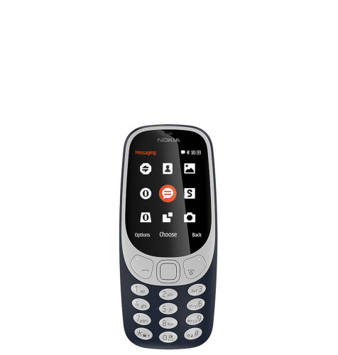Nokia 3310 (2017) DS: tamno plava
