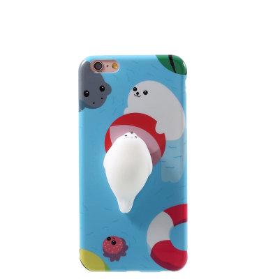 3D maskica za iPhone SE: svjetloplava