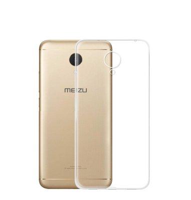 Silikonska maska za Meizu M5: prozirna