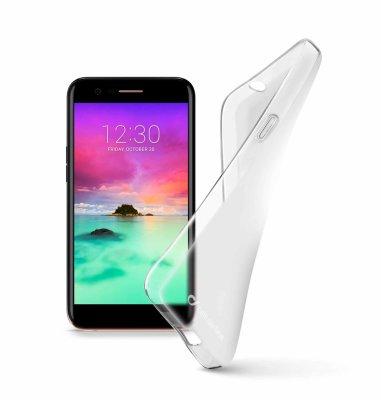 Cellular line silikonska prozirna zaštita za uređaj LG K10 2017