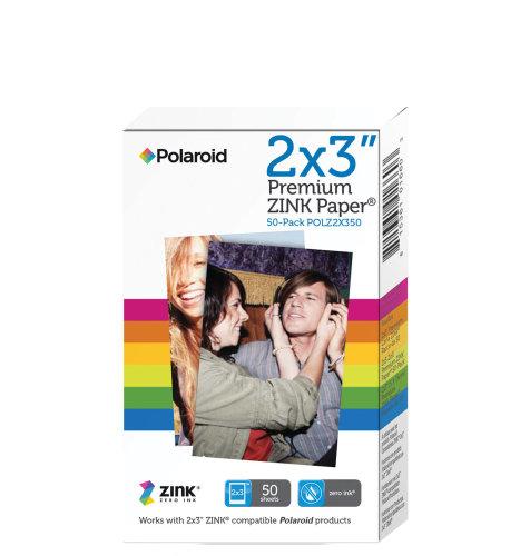 Polaroid papir 2x3 ZINK 50pk premium