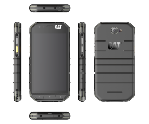 CAT® S31 Dual SIM: crni