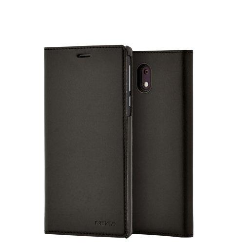 CP 303 preklopna maska za Nokia 3: crna