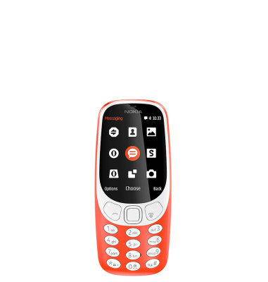 Nokia 3310 (2017) Single SIM: crvena