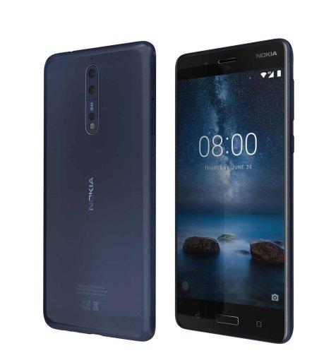 Nokia 8 Dual SIM: plava