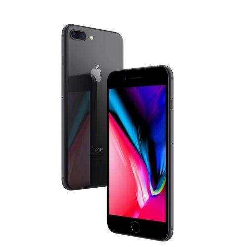 Apple iPhone 8 plus 64 GB: sivi
