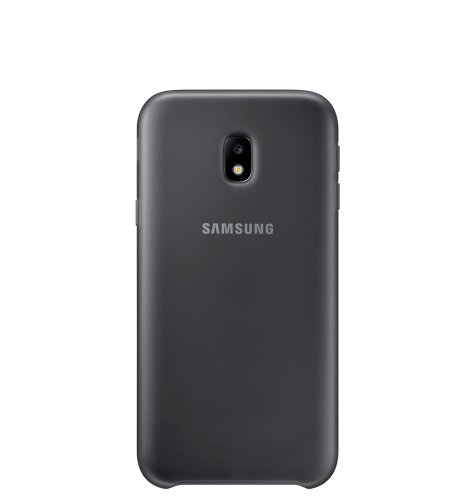 Samsung Galaxy J330 dual layer cover maskica: crna