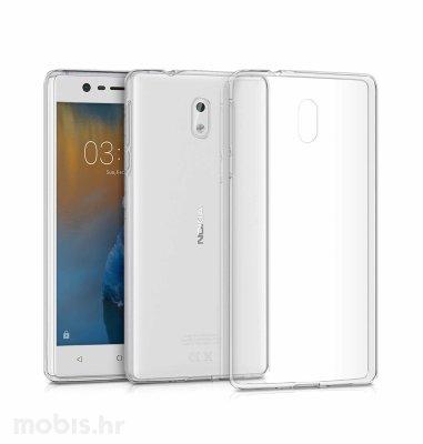 JCM silikonska maskica za Nokia 3 uređaj: prozirna