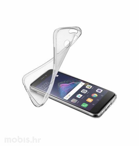 Cellular line silikonska zaštita za uređaj Huawei P9 lite 2017: prozirna