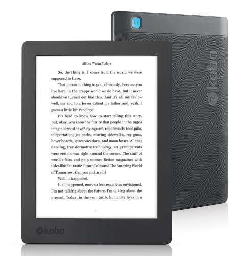 KOBO e-Book čitač Aura 2nd Edition: crni