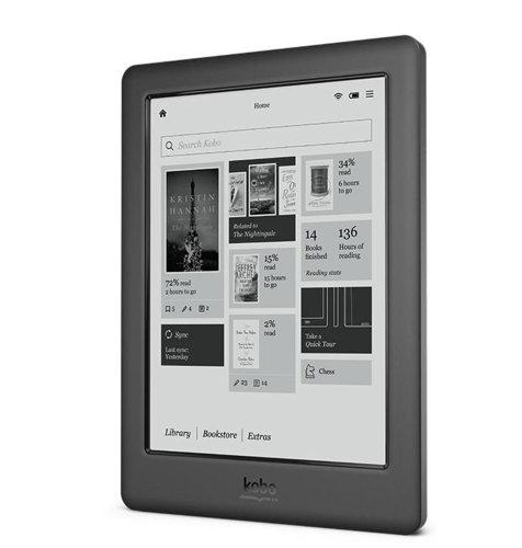 KOBO e-Book čitač Touch 2.0: crni