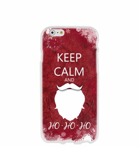 "Silikonska maska ""Keep calm"" za iPhone 7: prozirna"
